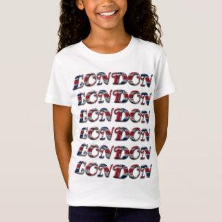 Typographie de l'Angleterre de motif de Londres T-Shirt