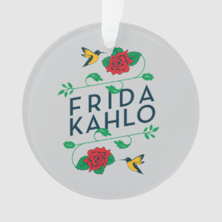 Typographie florale de Frida Kahlo |