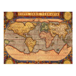 Typvs Orbis Terrarvm Carte Postale
