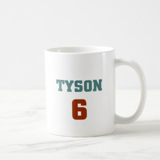 Tyson 6 mug blanc