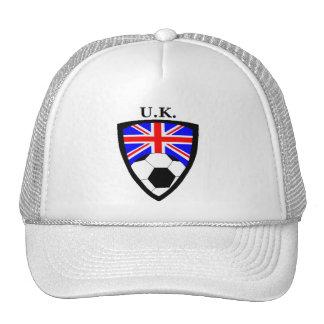 U.K. Le football Casquette