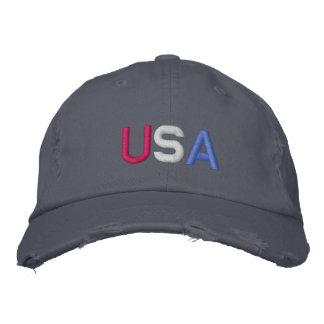 U.S.A. CASQUETTE DE BASEBALL - customisée -