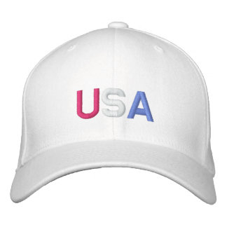 U.S.A. CASQUETTE DE BASEBALL - customisée