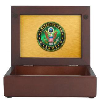 U.S. Boîte en bois de souvenir d'ARMÉE Boîtes À Souvenirs