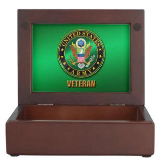 U.S. Boîte en bois de souvenir de VÉTÉRINAIRE Boîte À Souvenirs