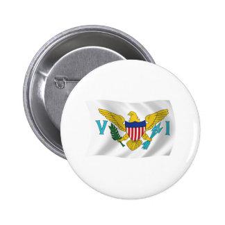 U.S. Bouton de drapeau des Îles Vierges Pin's Avec Agrafe