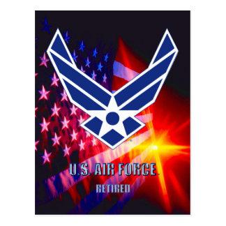 U.S. Carte postale retirée parArmée de l'Air