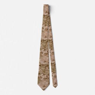 U.S. Cravate militaire de camouflage de sable de