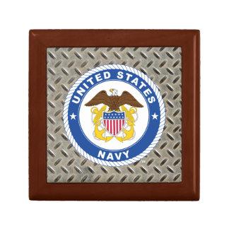 U.S. Crête de dirigeant de la marine | Boîte À Souvenirs