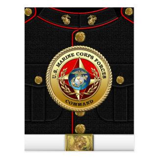 U.S. La Marine Corps force la commande (MARFORCOM) Carte Postale