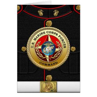 U.S. La Marine Corps force la commande (MARFORCOM) Cartes