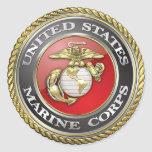 U.S. La Marine Corps (usmc) symbolise [3D] Autocollants