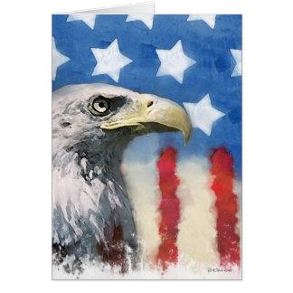 U.S. la troupe de drapeau et d'aigle soutiennent Cartes