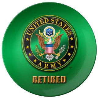 """U.S. L'ARMÉE ROUISSENT 10,75"""" plat décoratif de Assiettes En Porcelaine"""