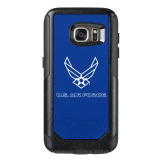 U.S. Logo de l'Armée de l'Air - bleu Coque OtterBox Samsung Galaxy S7
