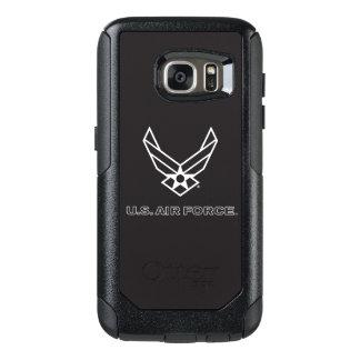 U.S. Logo de l'Armée de l'Air - noir Coque OtterBox Samsung Galaxy S7