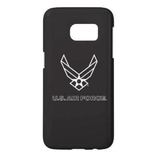 U.S. Logo de l'Armée de l'Air - noir Coque Samsung Galaxy S7