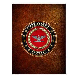 U.S. Marines : Colonel (Col d'usmc) [3D] Carte Postale