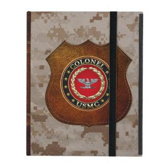 U.S. Marines : Colonel (Col d'usmc) [3D] Coque iPad