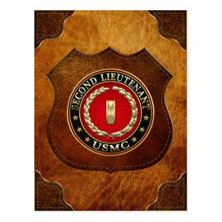 U.S. Marines : Deuxième lieutenant (usmc 2ndLt) Carte Postale
