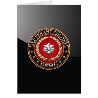 U.S. Marines : Lieutenant-colonel (usmc LtCol) Cartes
