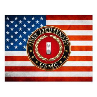 U.S. Marines : Premier lieutenant (usmc 1stLt) Carte Postale