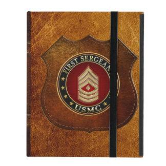 U.S. Marines : Premier sergent (usmc 1stSgt) [3D] Protection iPad