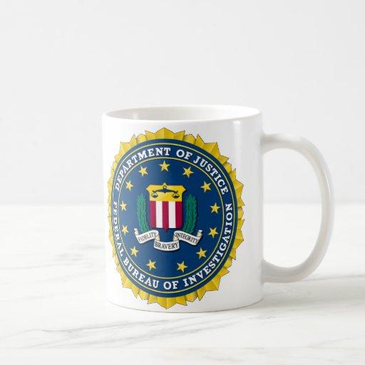 U.S. MINISTÈRE DE LA JUSTICE - FBI TASSE À CAFÉ