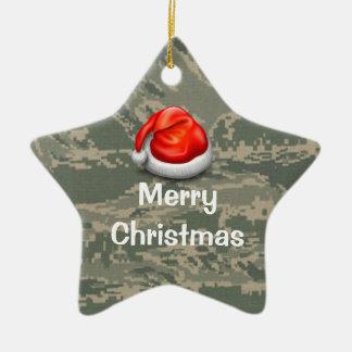 U.S. Ornement militaire de Joyeux Noël d'étoile de