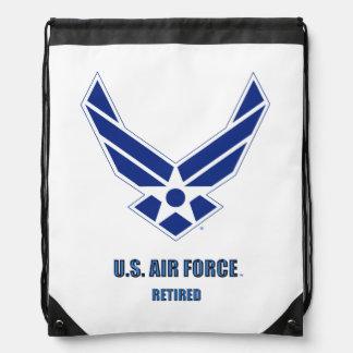 U.S. Sac à dos de cordon retiré parArmée de l'Air