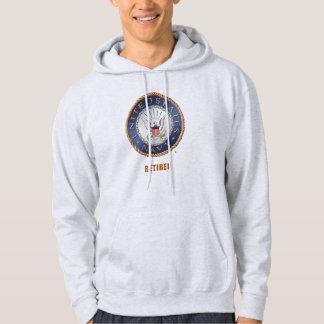 U.S. Sweat - shirt à capuche retiré par marine