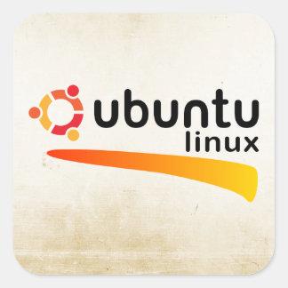 Ubuntu Linux Open Source Autocollants