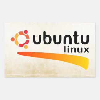 Ubuntu Linux Open Source Autocollant