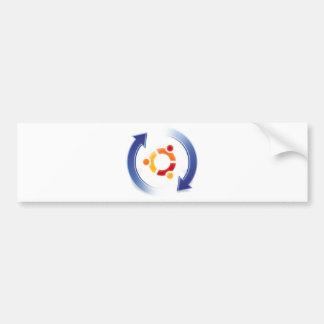 ubuntu-update autocollant de voiture