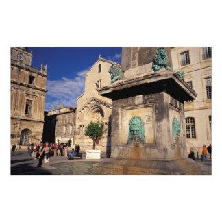 UE, France, Provence, le Bouches-du-Rhône, Arles. Impression Photo