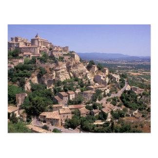 UE, France, Provence, Luberon, Gordes Carte Postale