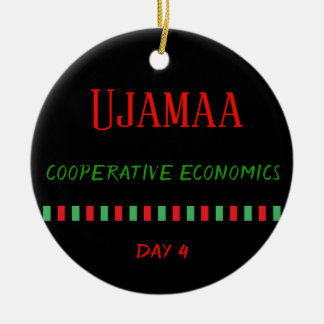 Ujamaa - ornement du jour 4 % pipe% de Kwanzaa
