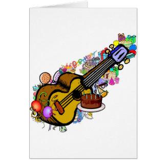 uke d'anniversaire carte de vœux