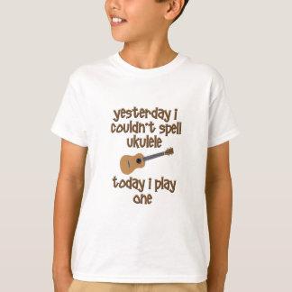 Ukulélé drôle t-shirt