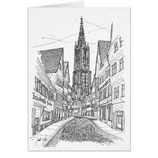 Ulm Allemagne Carte De Vœux