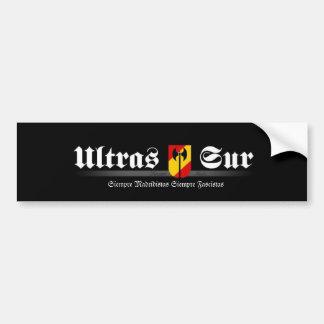 ultrassur Ultras Sur Real Madrid Autocollant De Voiture