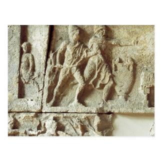 Ulysse découvrant les prétendants de son épouse carte postale