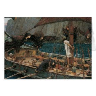 Ulysse et les sirènes par le château d'eau de JW Carte De Vœux