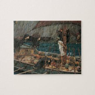 Ulysse et les sirènes par le château d'eau de JW Puzzle