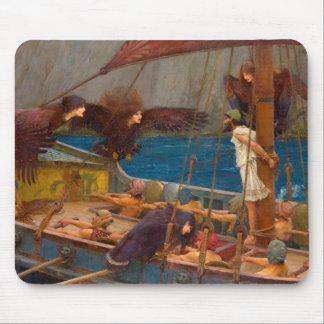 Ulysse et les sirènes tapis de souris