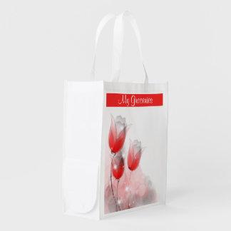 Un abrégé sur tulipe sac d'épicerie
