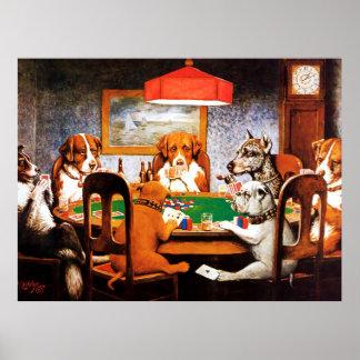 Un ami chez des chiens du besoin C M Coolidge joua Posters
