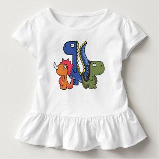 Un ami lunatique de dinosaure, mignon et adorable t-shirt pour les tous petits