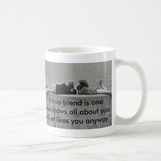 Un ami vrai mug