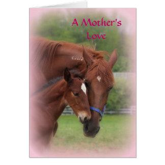 Un amour de mère… carte de vœux